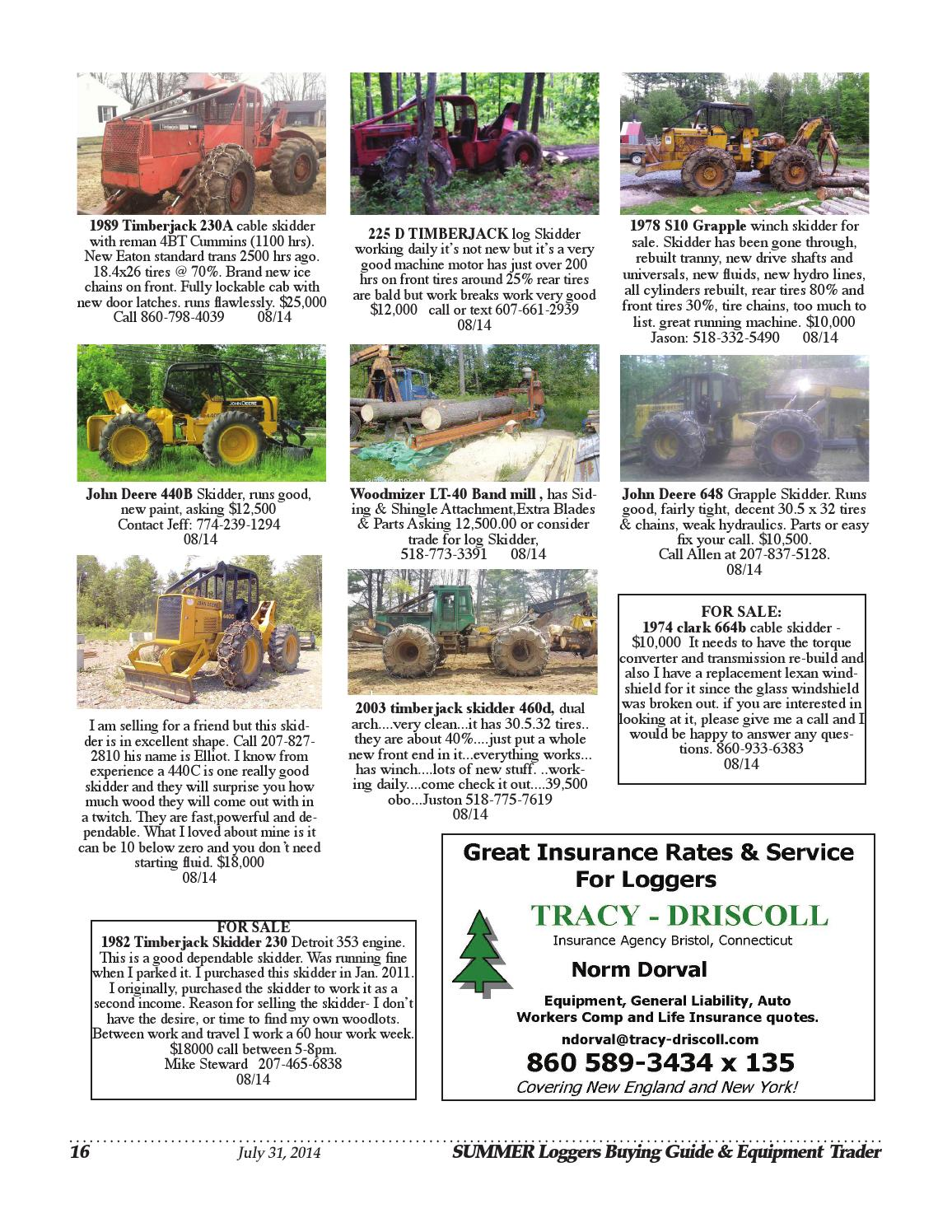 Summer Loggers Buying Guide 2014 by Log Street Publishers