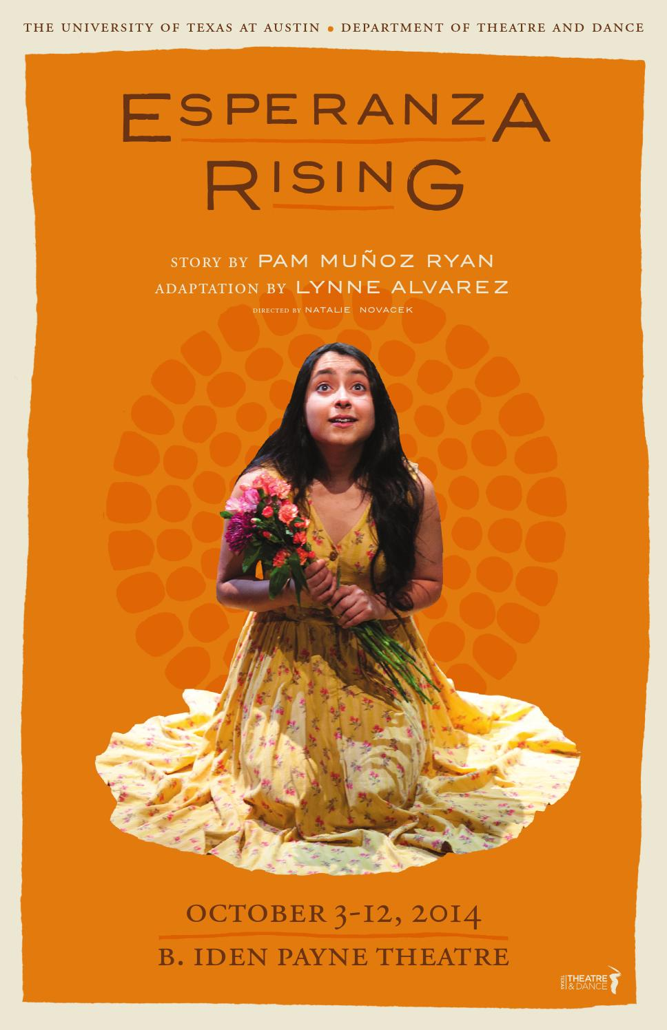 Esperanza Rising Program By Texas Theatre Amp Dance Issuu