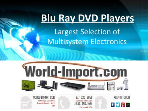 Largest selection of region free blu ray dvd player at 220