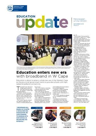 Education update 17 by western cape education department issuu education update 21 fandeluxe Gallery