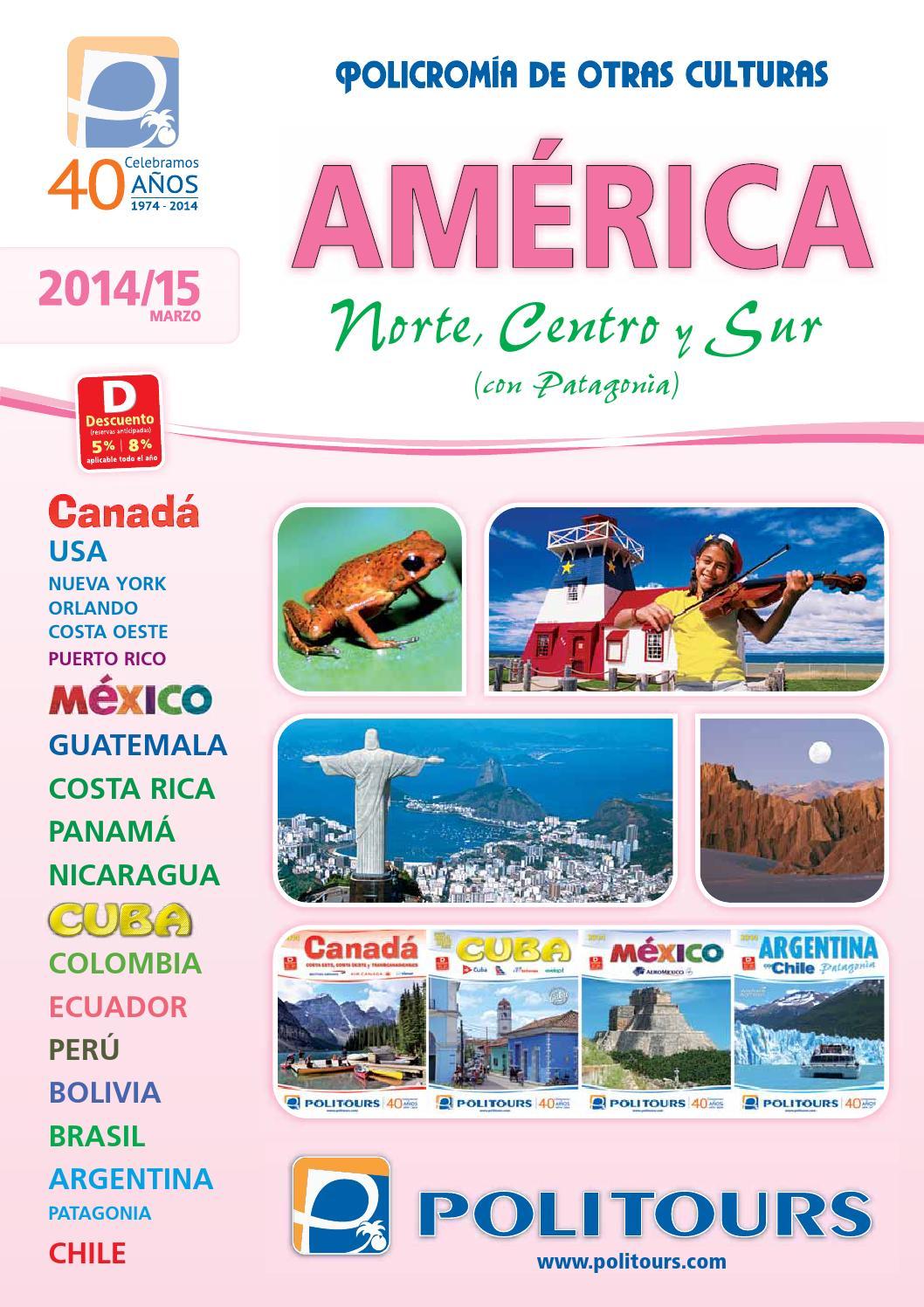 e93ae0da3 Catálogo Politours América 2014 - 2015 by Tierra Sinai - issuu