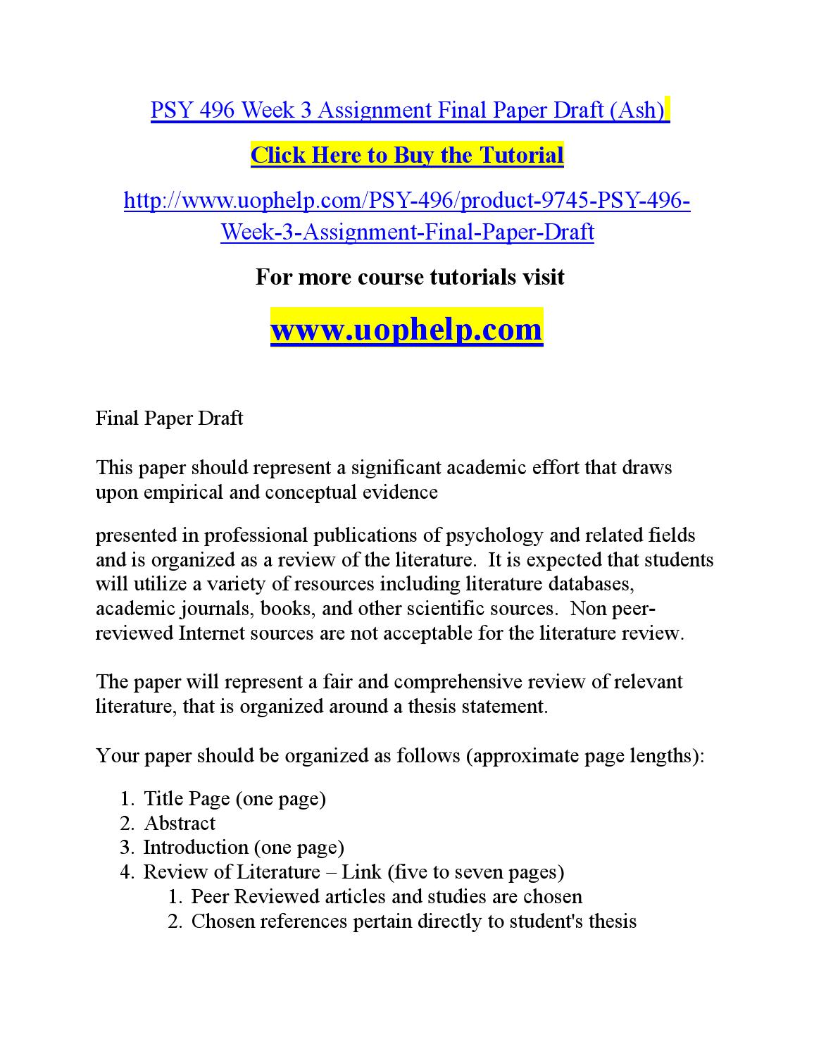 profile research paper year round school