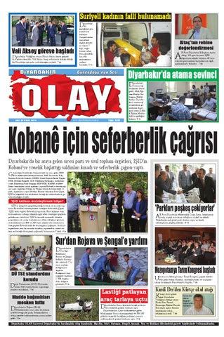 23 09 2014 Gazete Sayfalari By Diyarbakir Olaygazetesi Issuu