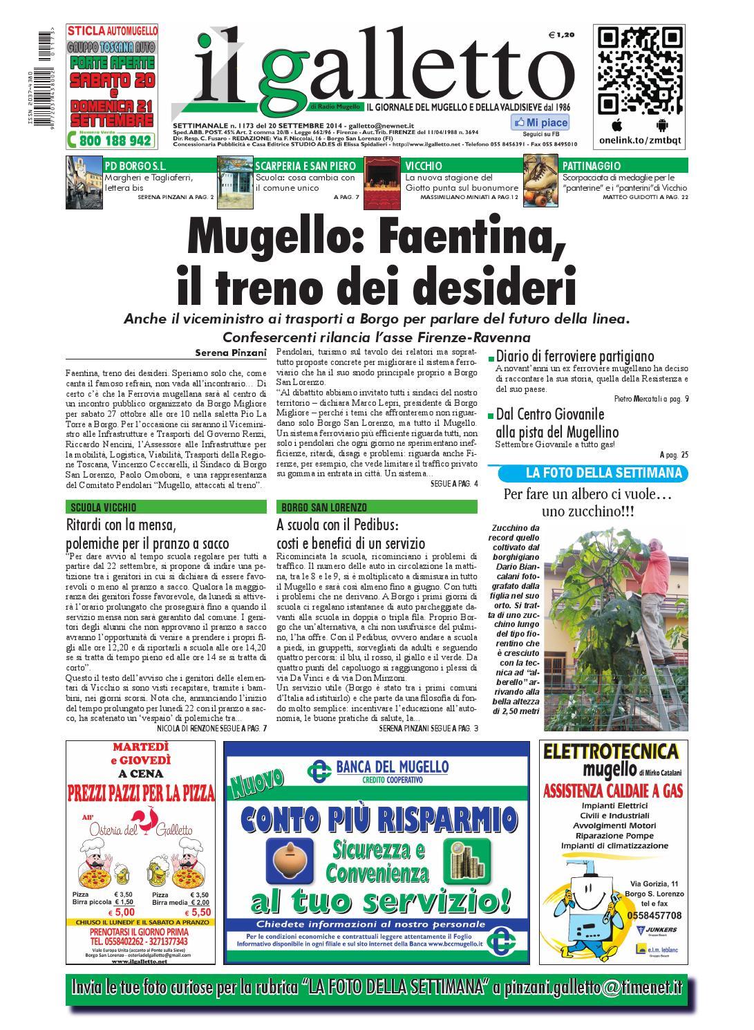 Galletto 1173 del 20 settembre by Il Galletto Giornale issuu