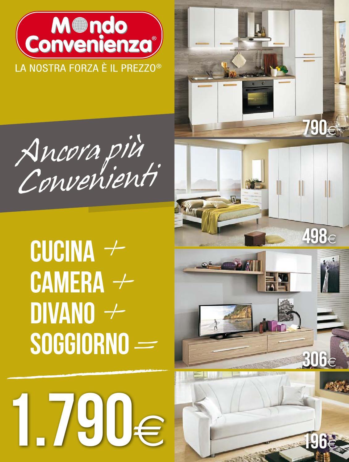 Mondo convenienza catalogo autunno2014 by mobilpro issuu for Volantino mondo convenienza divani