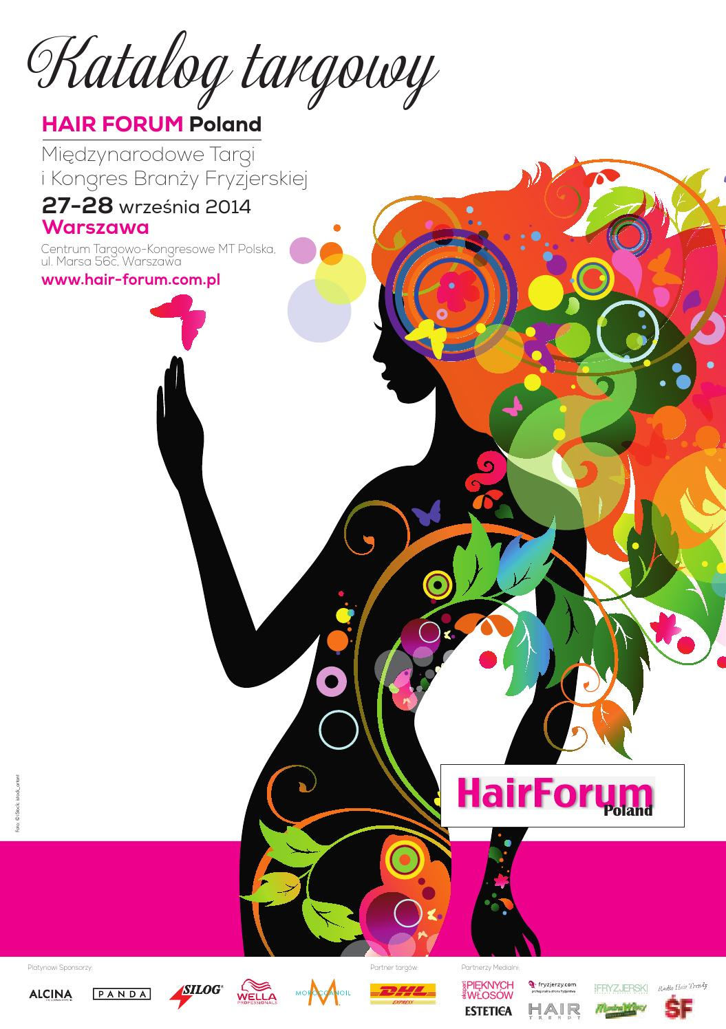 Katalog Hair Forum Poland 2014 Warszawa By Kamila Jadwicka Issuu