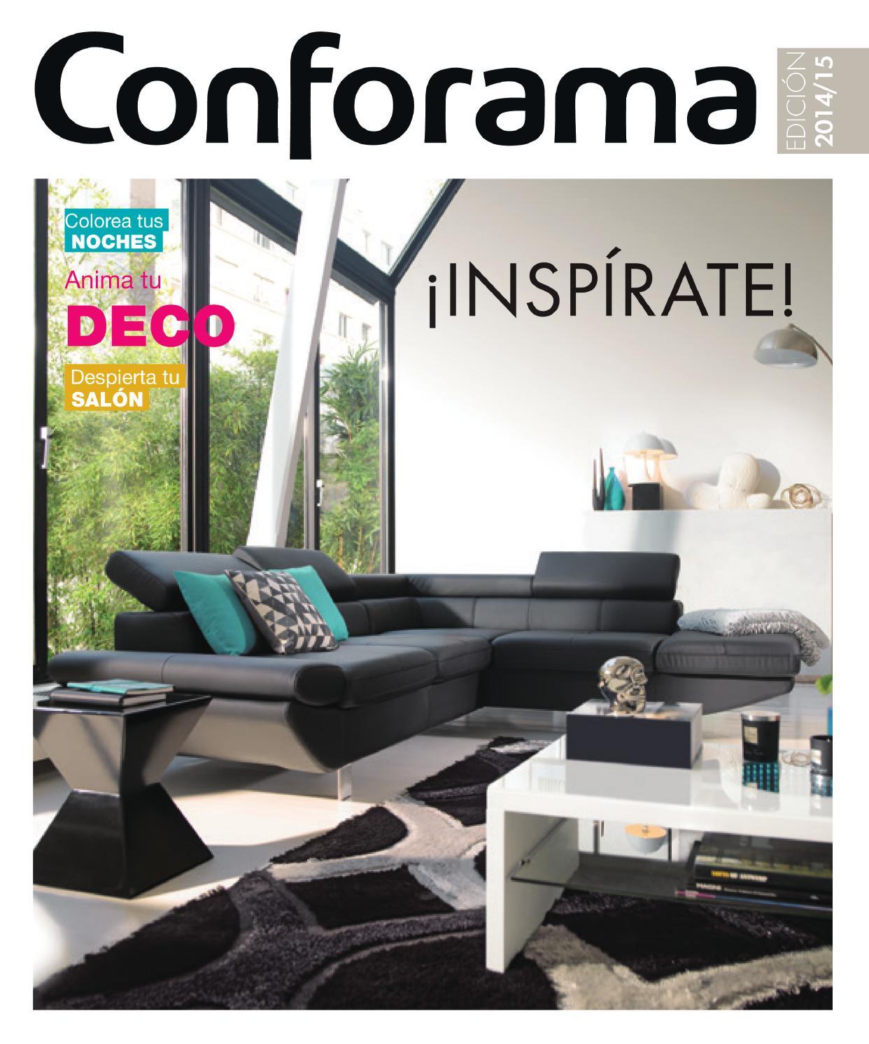 Conforama catalogo anual 2014 15 by losdescuentos issuu for Conforama espejos salon