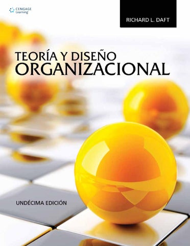 Teora y diseo organizacional 11a ed richard l daft by cengage page 1 fandeluxe Image collections