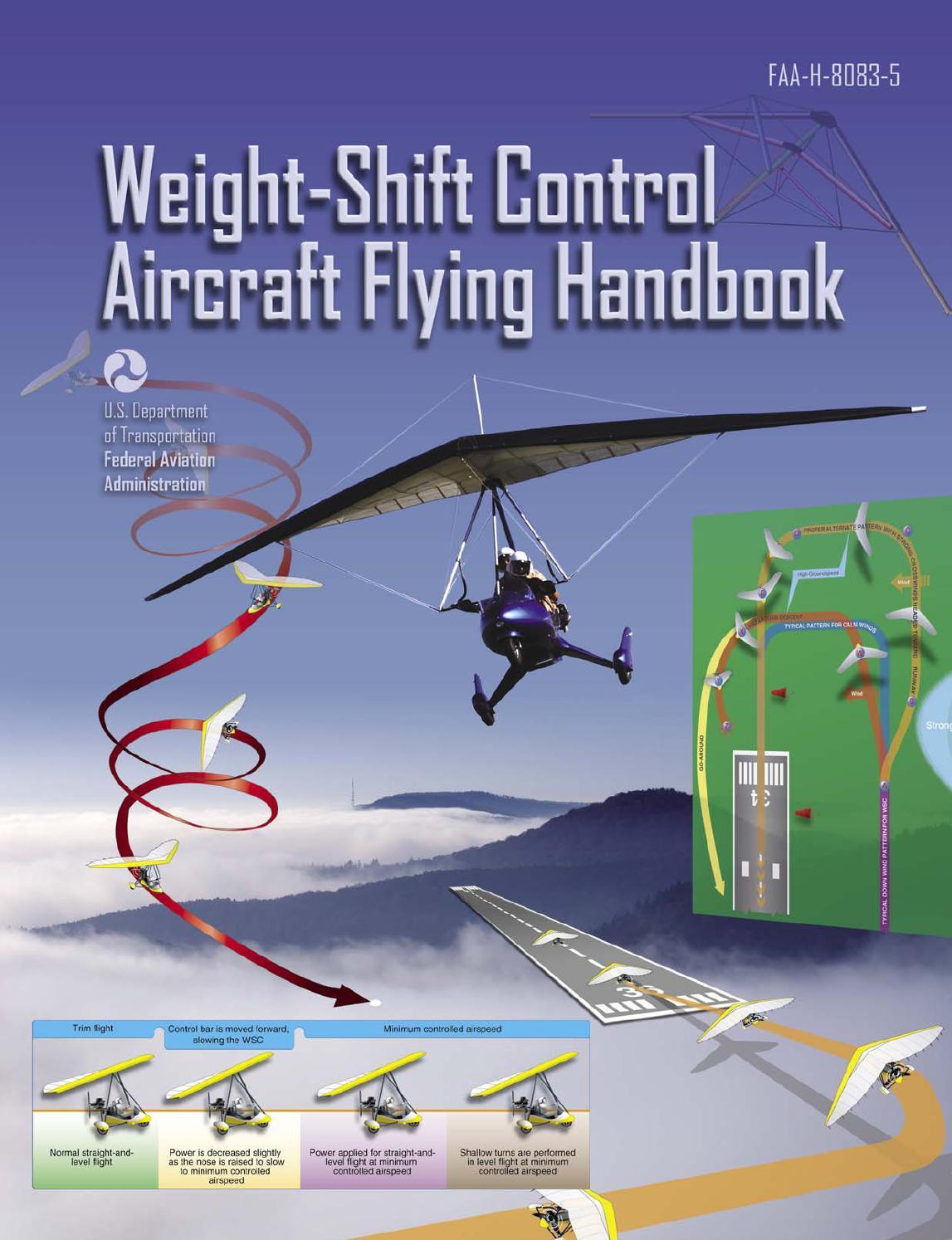 Weight Shift Control Aircraft Flying Handbook by EbenEzerAviation