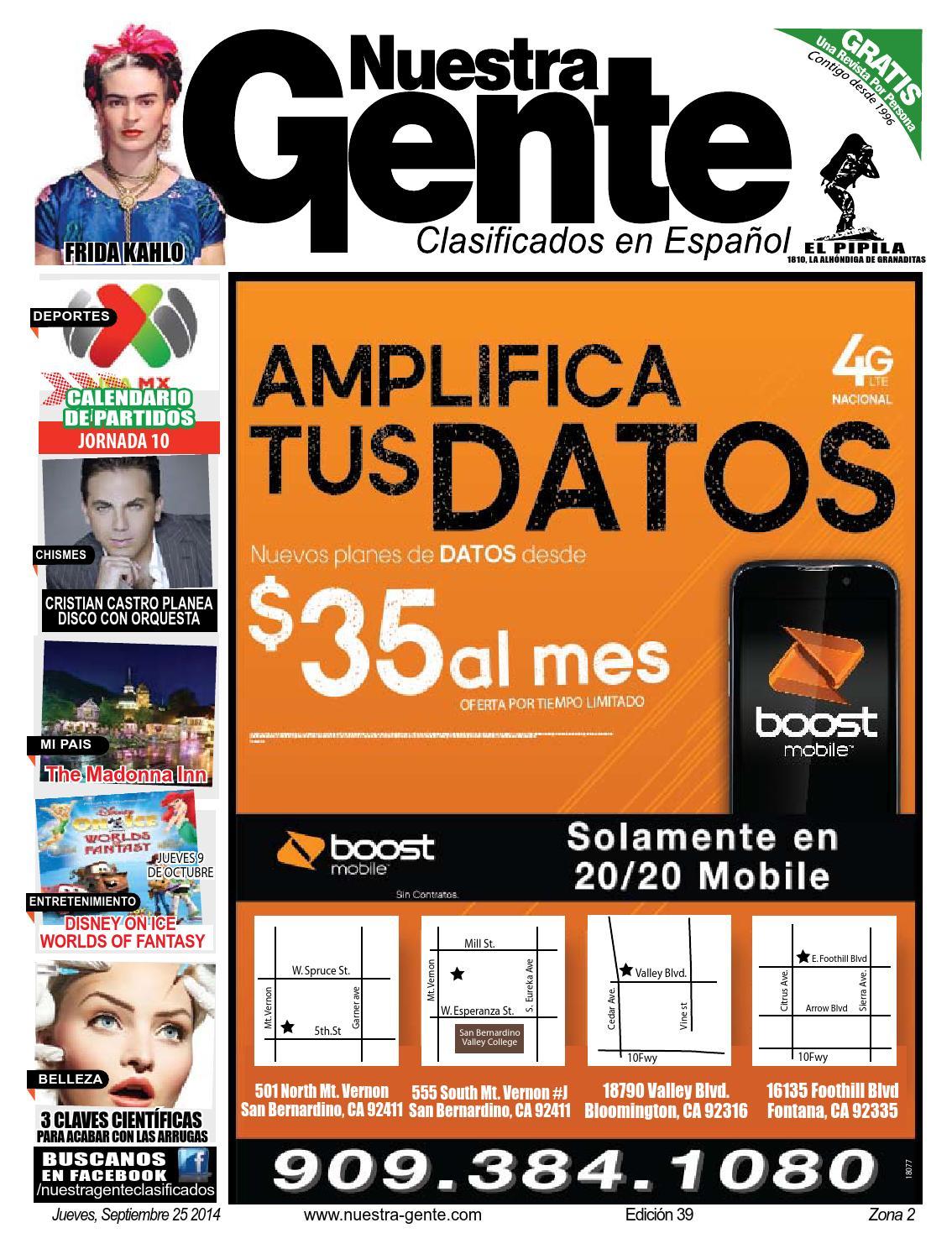 Nuestra Gente 2014 Edicion 39 Zona 2 by Nuestra Gente - issuu
