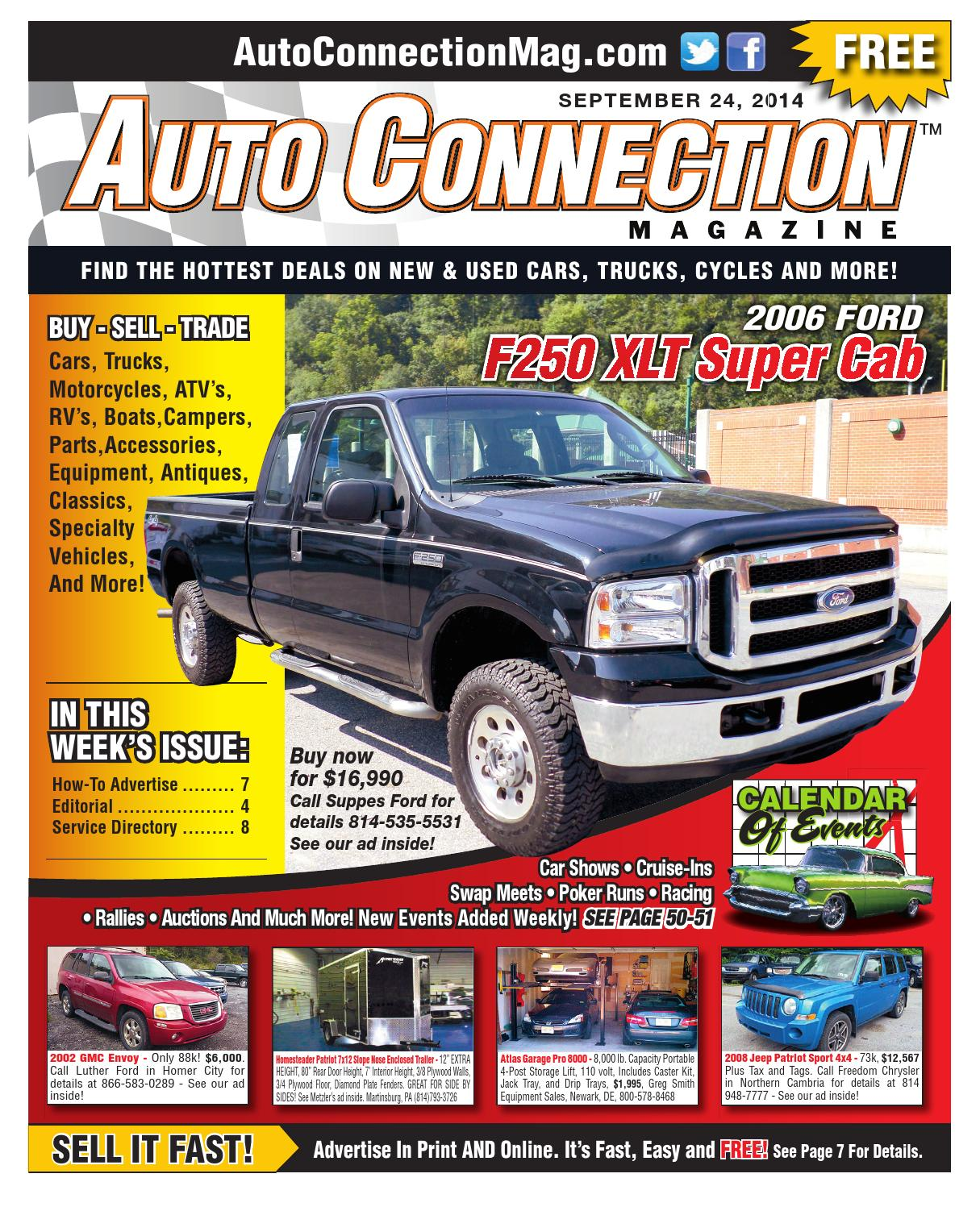 09 24 14 Auto Connection Magazine By Auto Connection