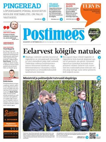 33e82ff92eb Postimees 24 09 2014 by Postimees - issuu