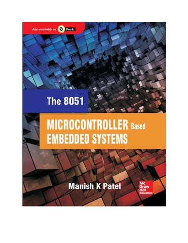 The 8051 microcontroller based embedded systems by Manish K