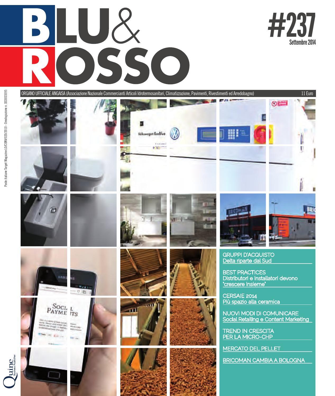 Centro Ceramica Di Sacco Lorenzo C Snc.Blu Rosso 237 Settembre 2014 Mercato Tecnologie E