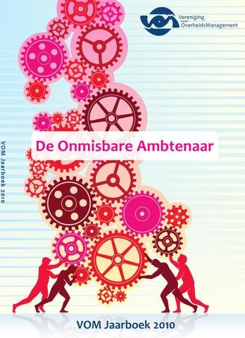 Vom Jaarboek 2010 De Onmisbare Ambtenaar By