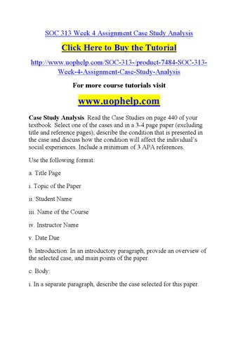 case study introduction paragraph