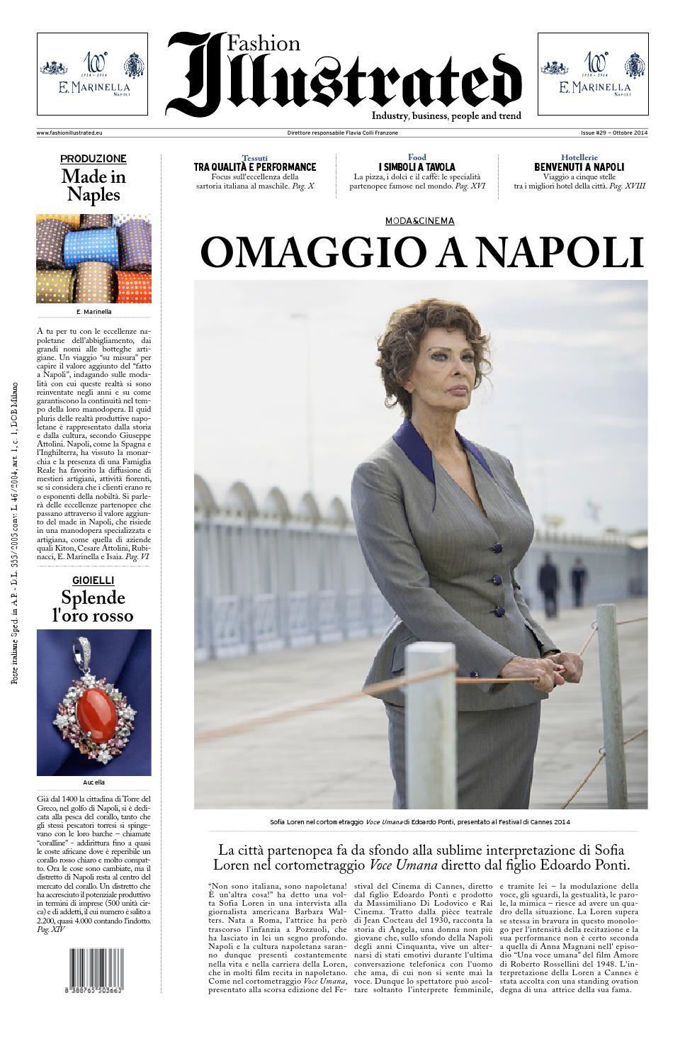Napoli illustrated ottobre 2014 by Fashion Illustrated - issuu 376e95e58c1