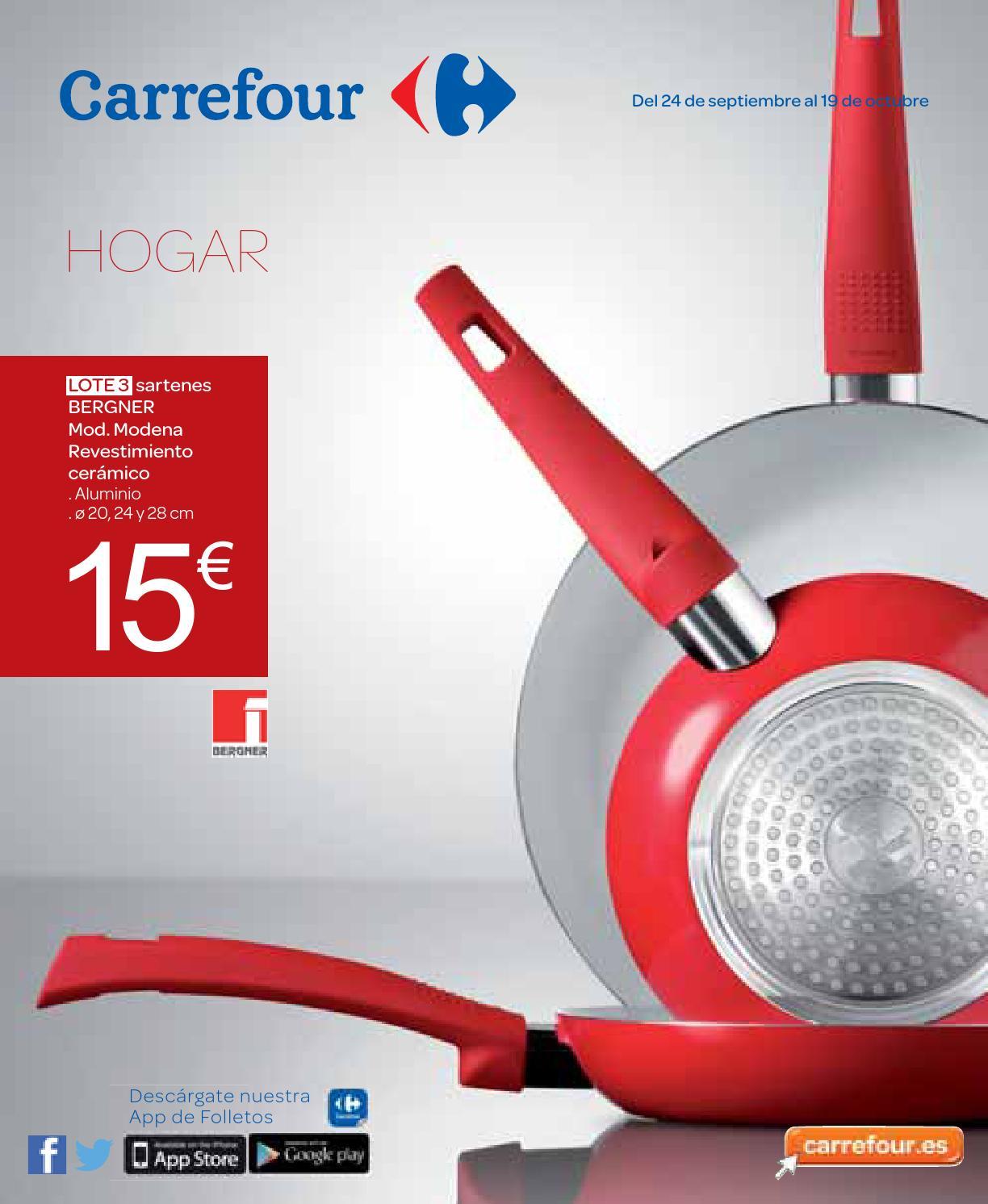 Hogar otono 240914 medium nacional by losdescuentos issuu - Carrefour menaje hogar ...