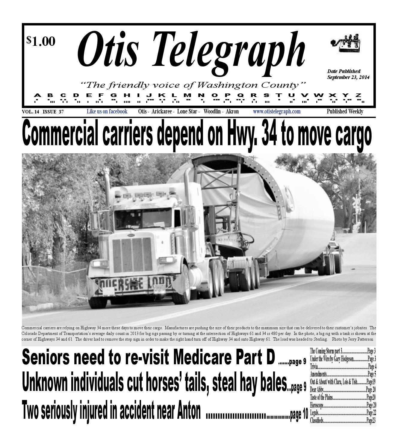Otis telegraph september 23 2014 edition by otsportschek issuu fandeluxe Choice Image