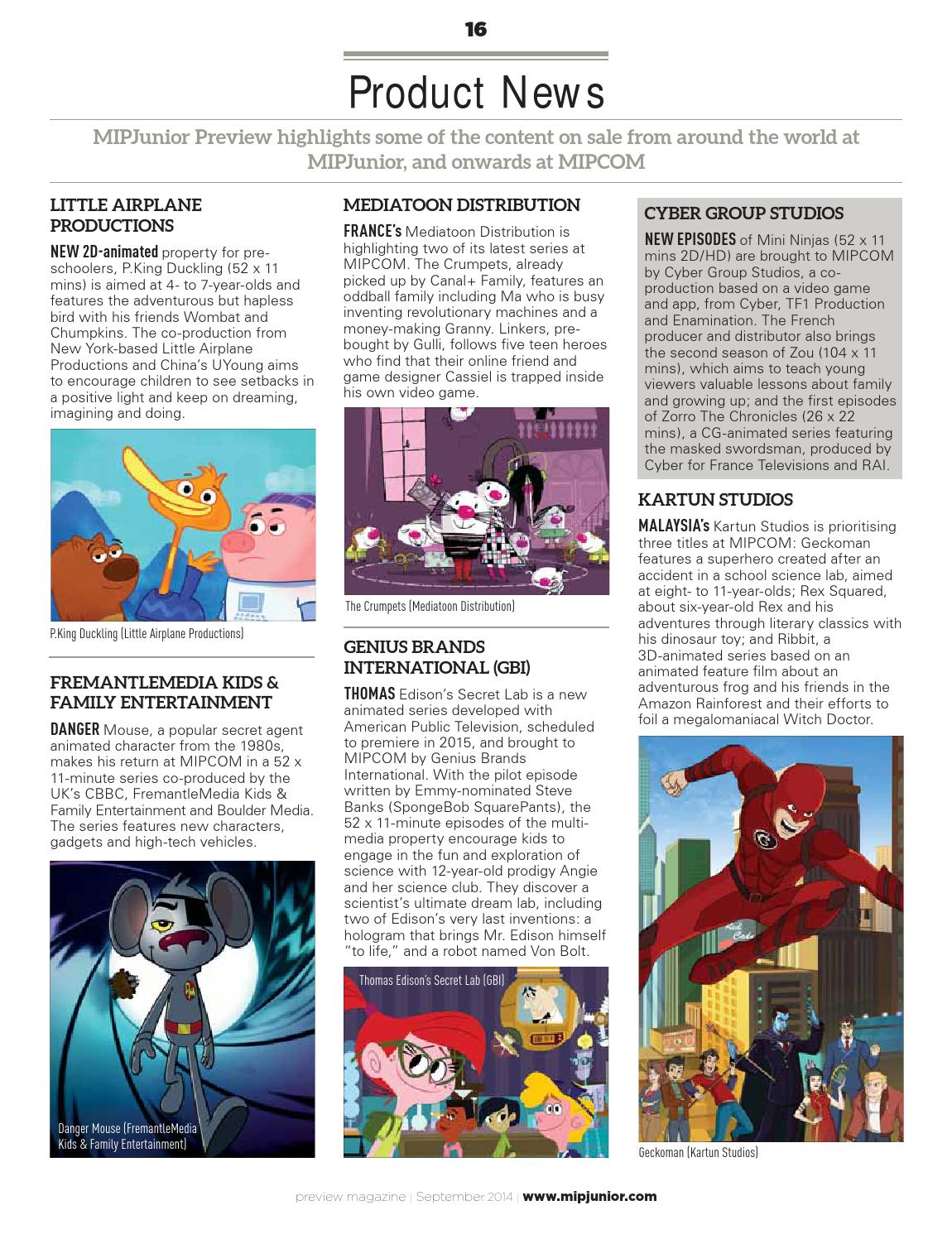 Mipjunior 2014 preview by MIPMarkets - issuu