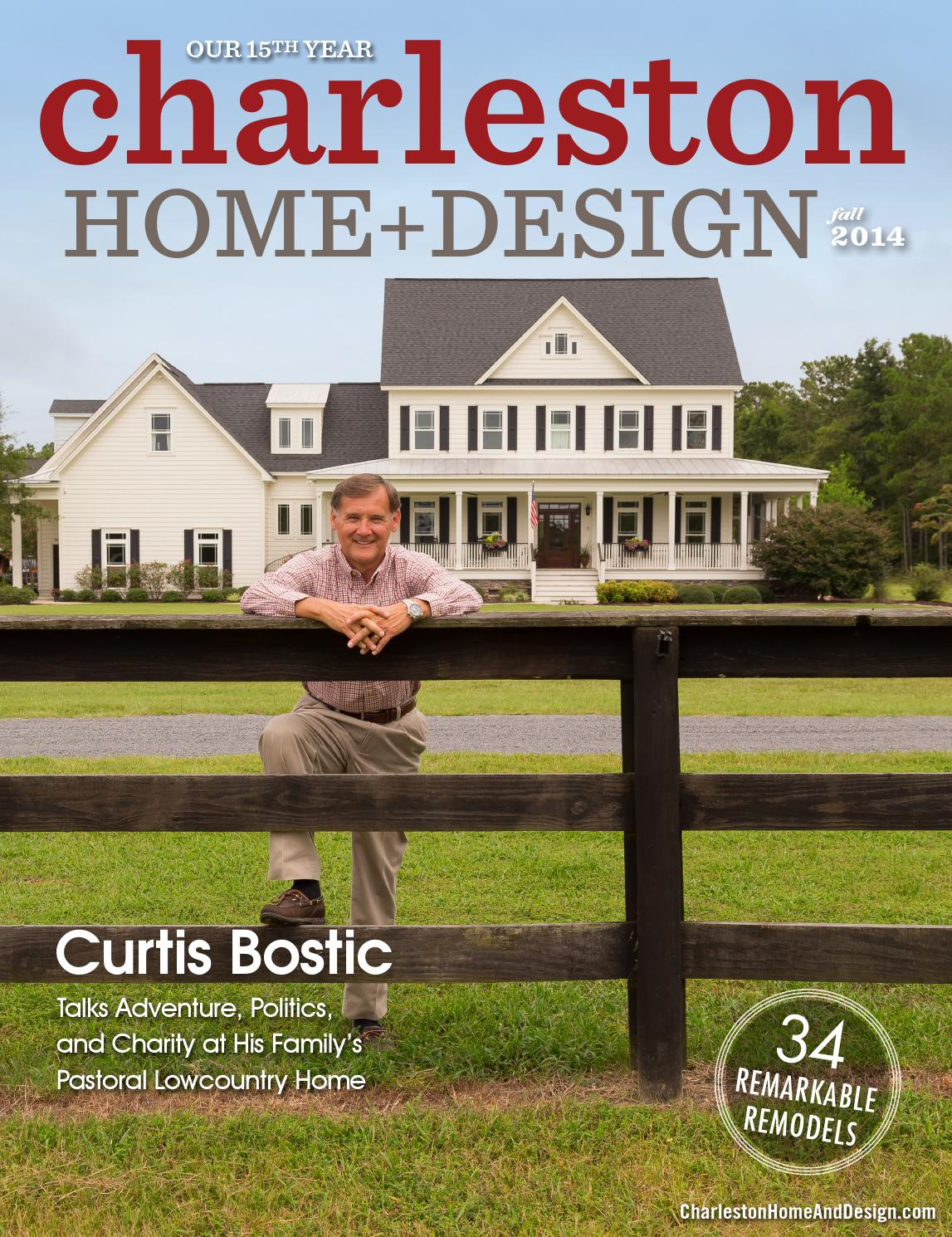 Charleston home design magazine fall 2014 by for Charleston home design