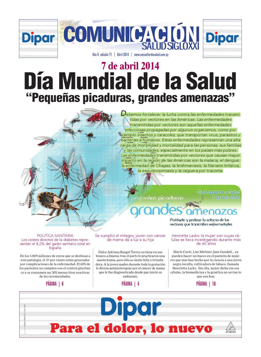 Comunicación Salud Siglo XII - #71 by Comunicación Salud SXXI - issuu