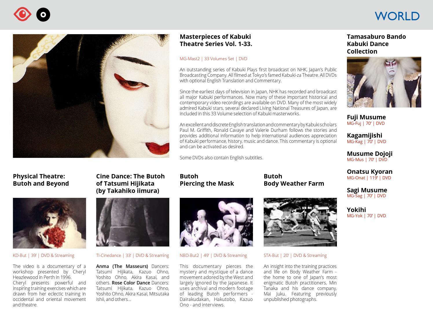 2013 ARTFILMS Streaming Catalog by Artfilms / Contemporary