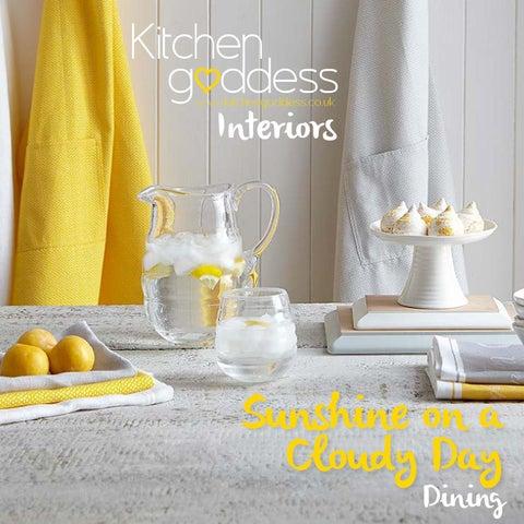 2c4c1996588 Kitchen Goddess Interiors Lookbook - Sunshine on a Cloudy Day Dining ...