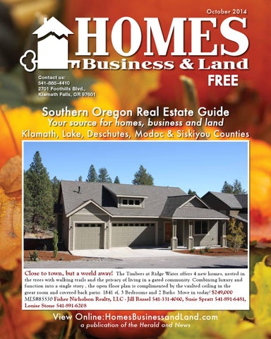 homes business and land oct 2014 by herald and news issuu
