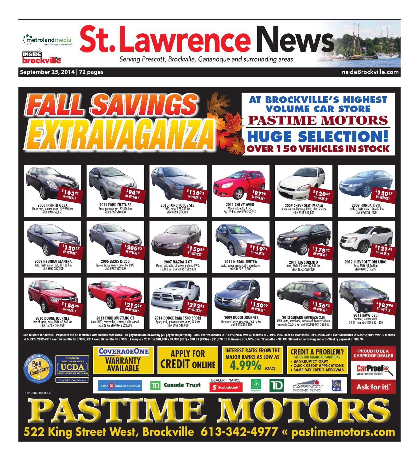 Stlawrence092514 by metroland east st lawrence news issuu fandeluxe Image collections