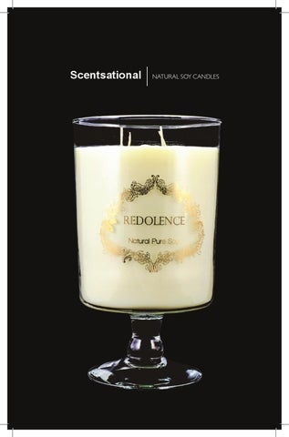 Scentsational Candles Fearless Candle