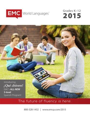 Emc world languages 2015 catalog by emc publishing issuu page 1 fandeluxe Choice Image