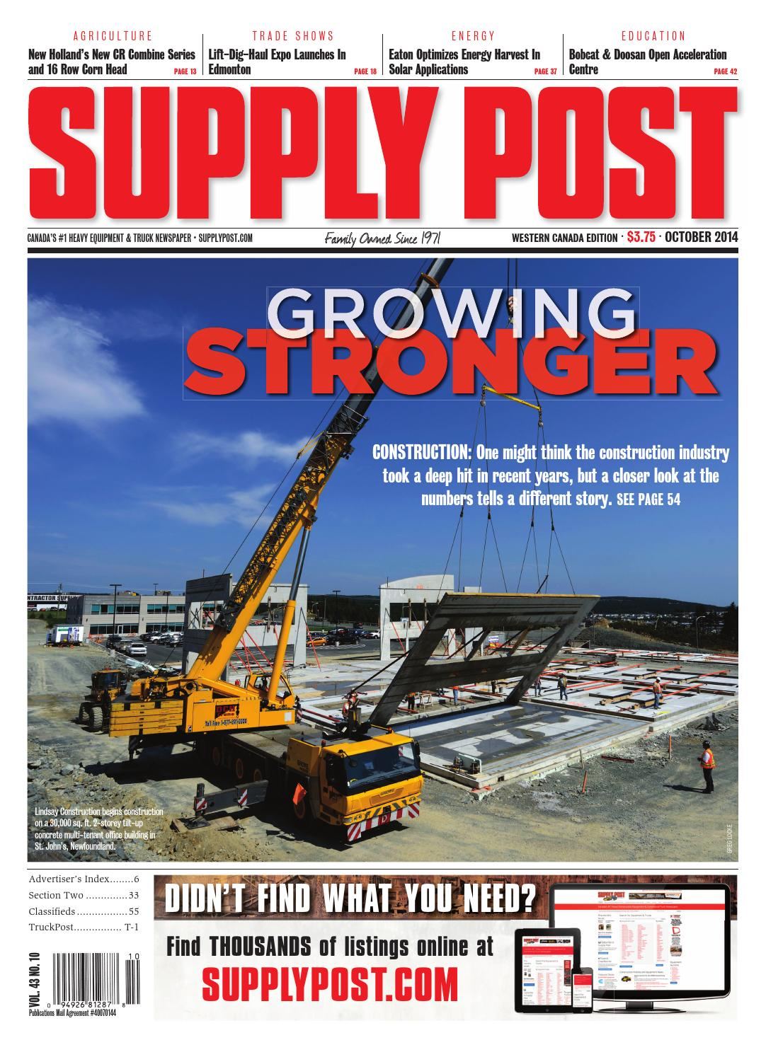 Supply Post West Oct 2014 by Supply Post Newspaper - issuu