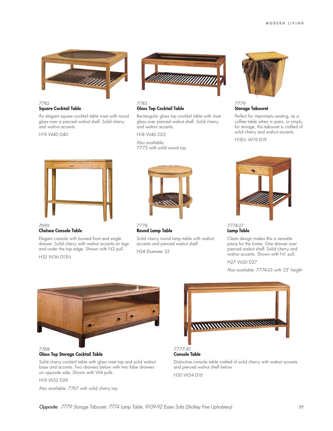 Modern Collection Catalog By Stickley By Stickley Issuu
