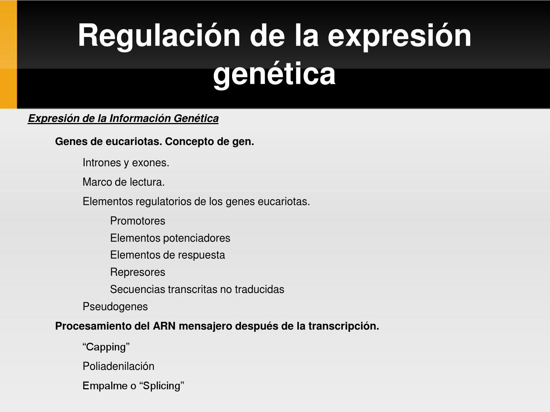 Unidad IV Parte II Bioquímica Genética by Luis Felipe Alexardy ...
