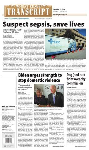 Wheat Ridge Transcript 0925 by Colorado Community Media - issuu