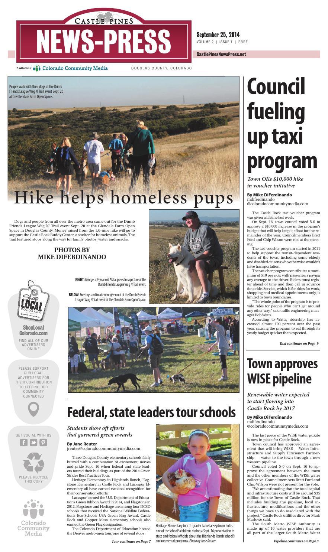 Castle Pines News Press 0925 by Colorado Community Media - issuu d1072454d4