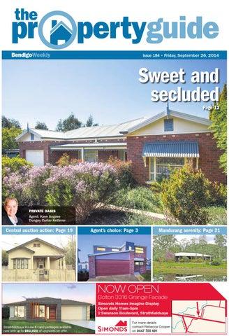 bendigo weekly property guide issue 184 fri sep 26 2014 by rh issuu com