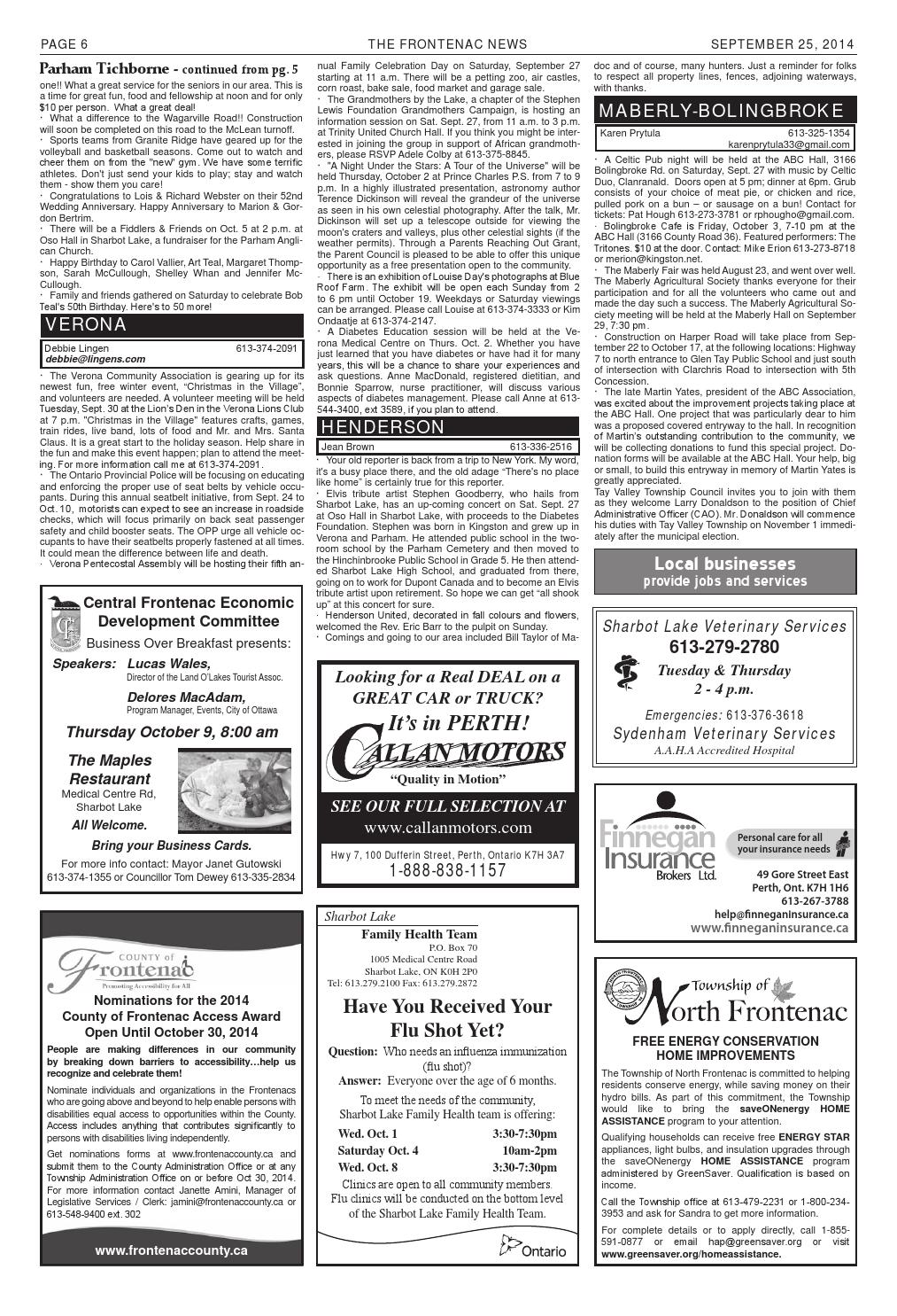 No 14 Vol 38 by Frontenac News - issuu