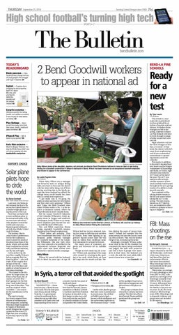 official photos a0cd0 15202 Bulletin Daily Paper 09-25-14 by Western Communications, Inc