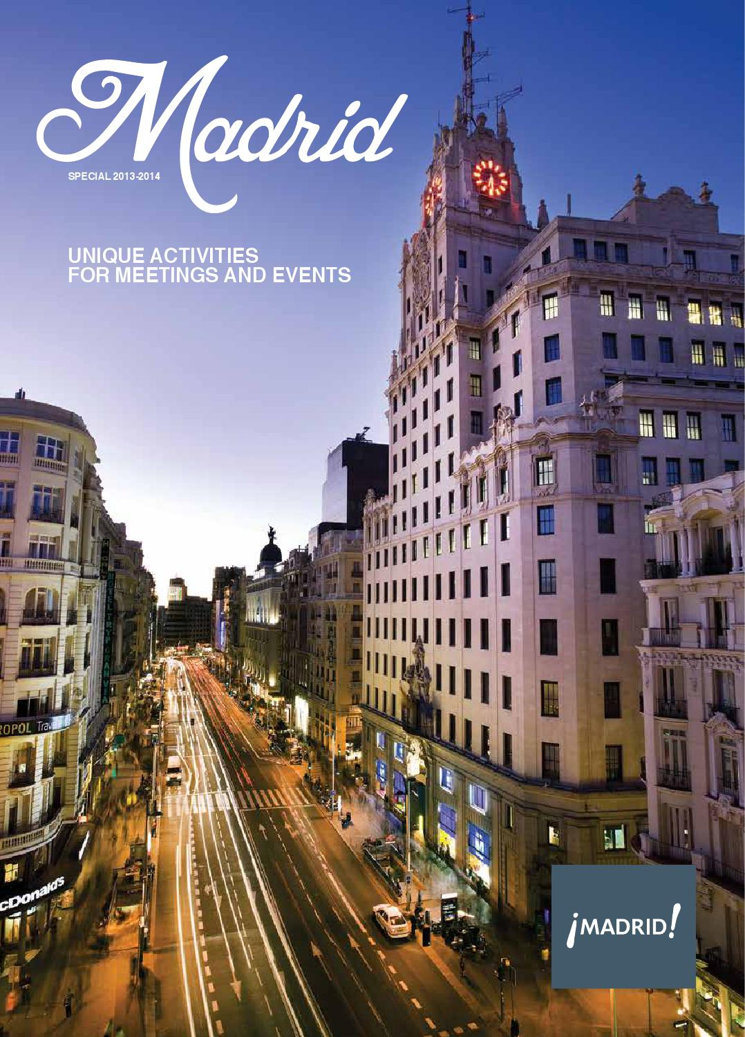 Madrid Special 2013 2014 By Grupo Eventoplus Issuu