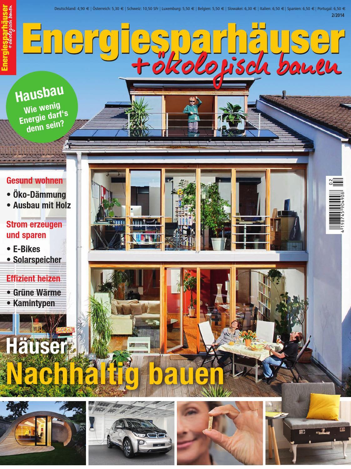 Energiesparhäuser + ökologisch Bauen 2/2014 By Family Home Verlag GmbH    Issuu
