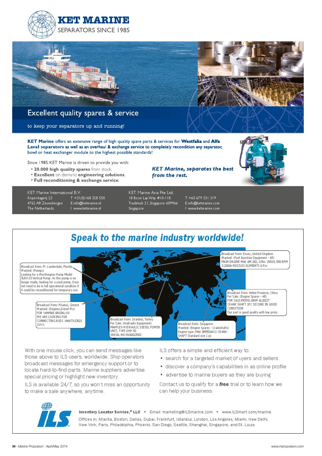 Marine Propulsion & Auxiliary Machinery April 2014 by Richard - issuu
