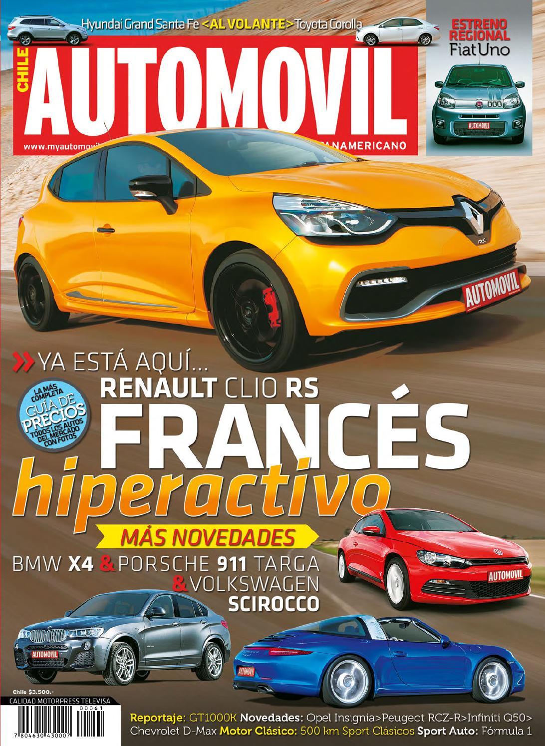 Automóvil Panamericano Edición Chilena (N°61 Septiembre-Completa) by ...