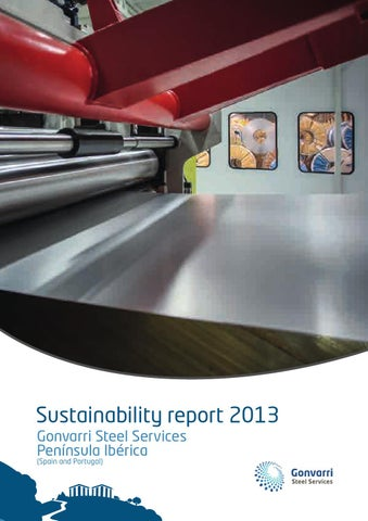Sustainability Report Gss 2013 By Gonvarri Steel Services