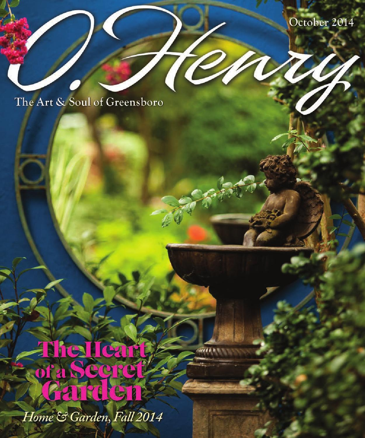 October O Henry 2014 By O Henry Magazine Issuu