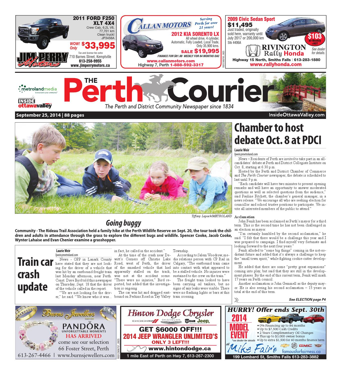 Perth092514 by Metroland East - The Perth Courier - issuu d0895e5e188