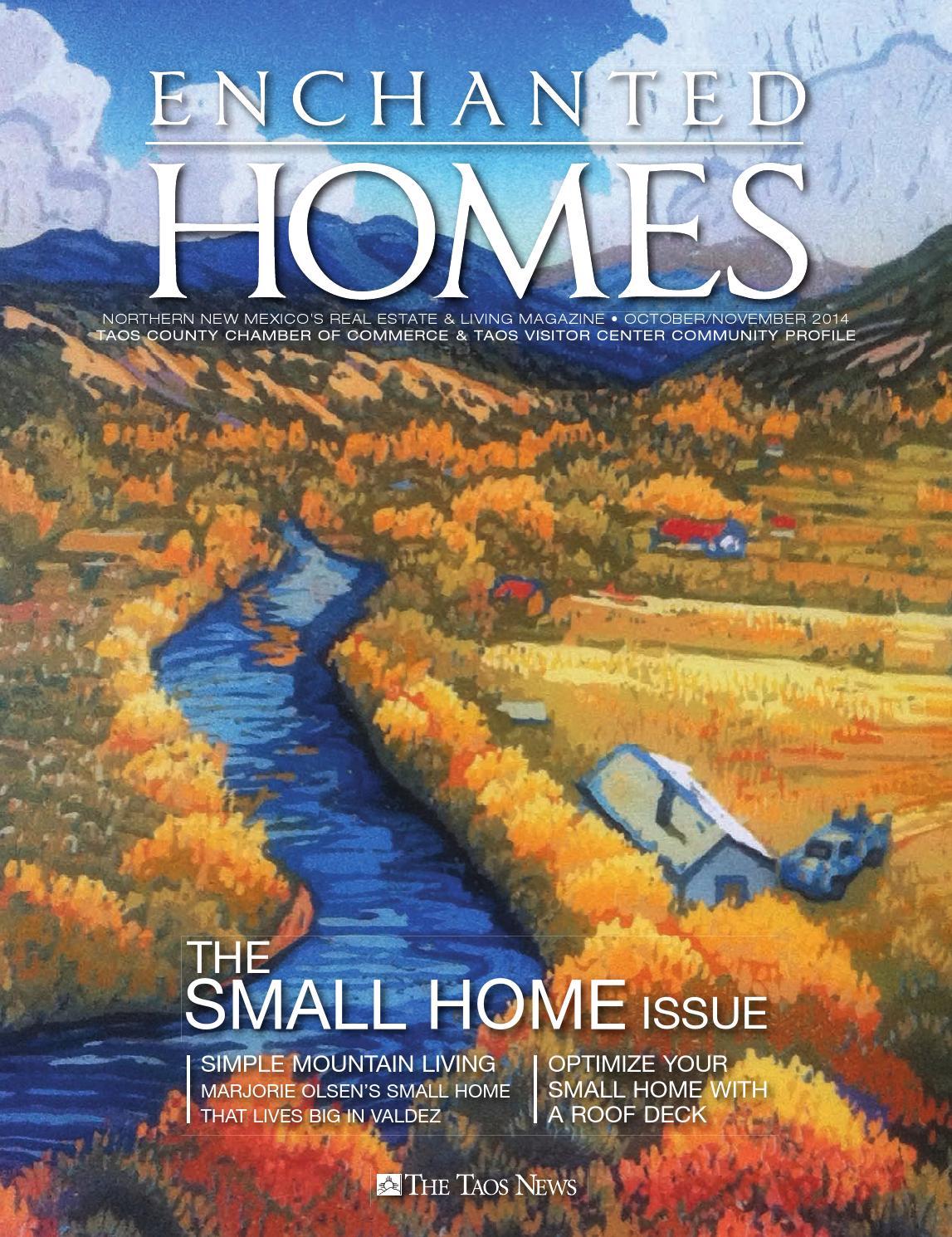 Enchanted Homes OctoberNovember 2014 by The