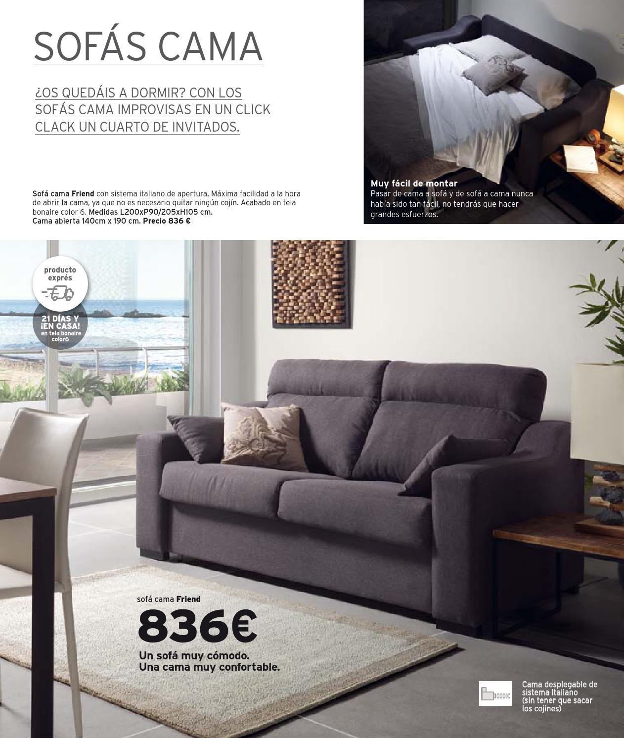 Catalogo 2014 15 by kibuc issuu - Sofa cama desplegable ...