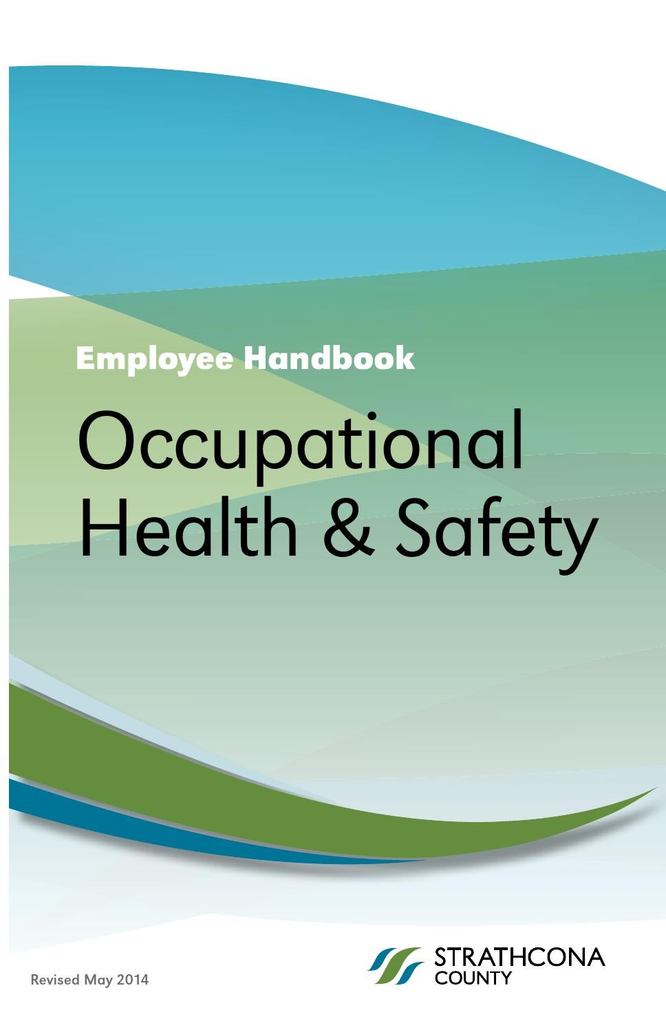 occupational health and safety strathcona county occupational health and safety handbook